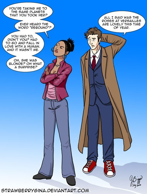 10th doctor Fan Art doctor who martha jones - 7761533440