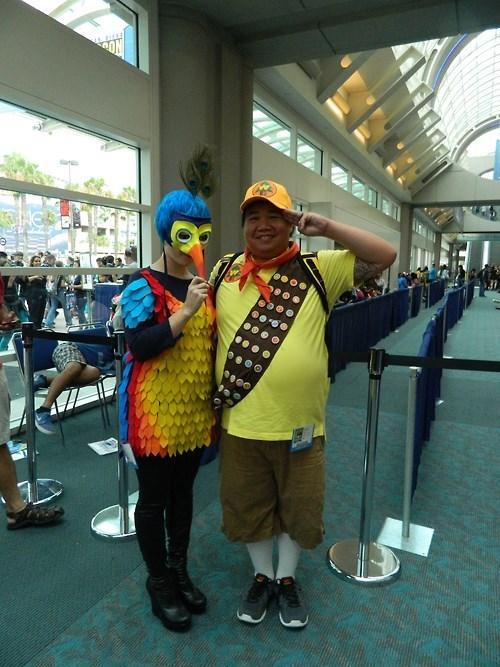disney cosplay up pixar