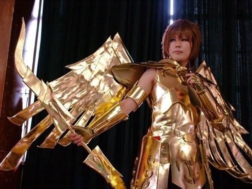 saint seiya,cosplay,anime,Sagittarius Aiolos