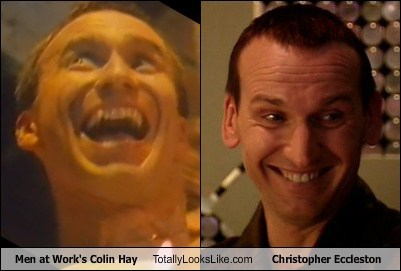 colin hay,men at work,totally looks like,doctor who,christopher eccleston