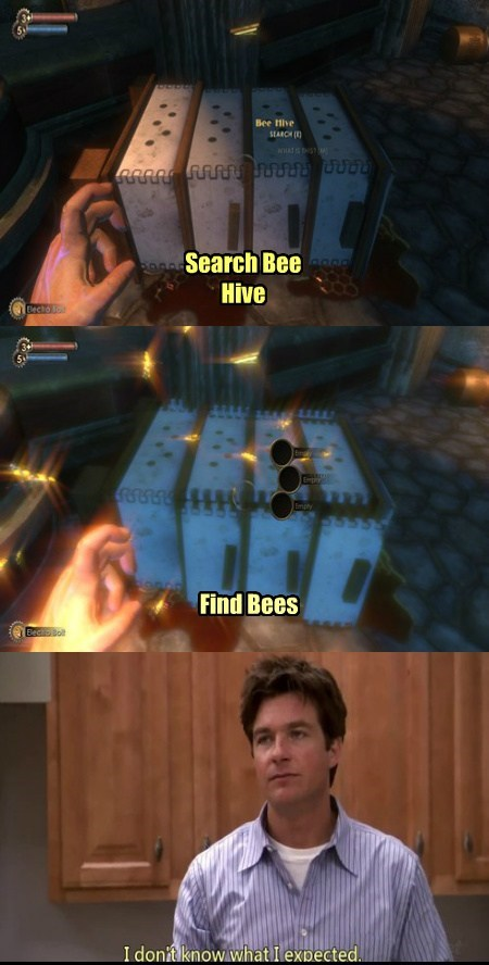 bees,arrested development,bioshock,funny