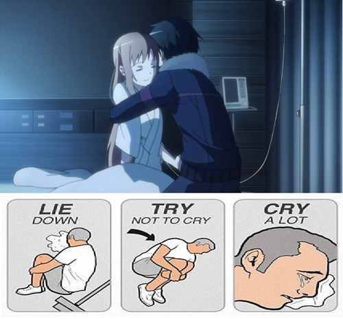try not to cry anime Sword Art Online - 7763335680