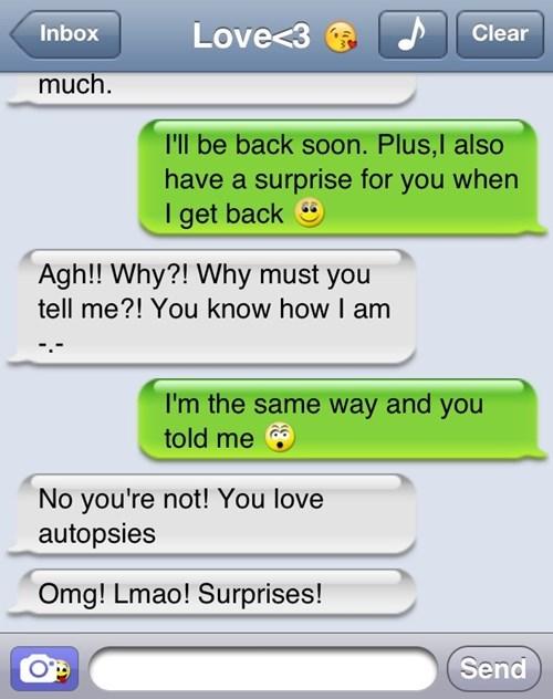 autocorrect text autopsies funny surprises - 7763464448