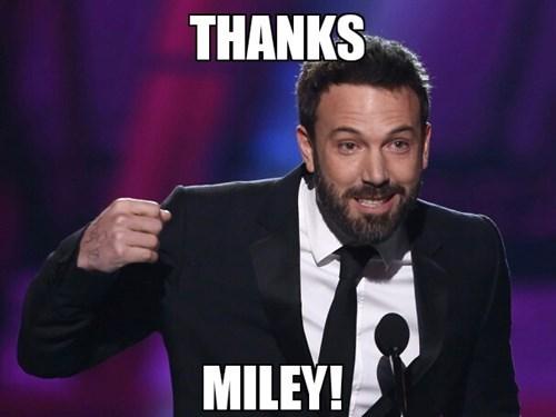 batfleck MTV VMAs ben affleck miley cyrus - 7763515904