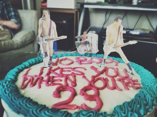 cake,twenty three,blink 182