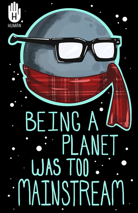pluto,planets,hipsters,science,funny