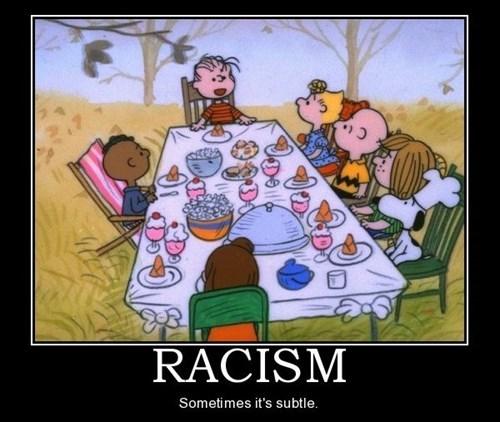 racism peanuts funny - 7763822080