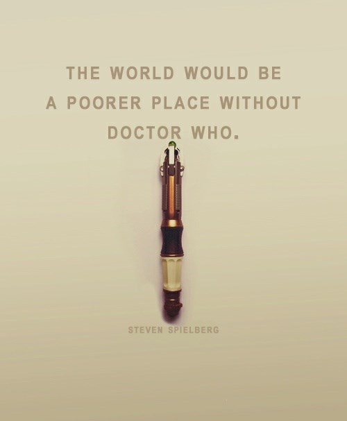 sonic screwdriver,steven spielberg,doctor who