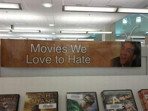 movies video store nicolas cage funny - 7763980544