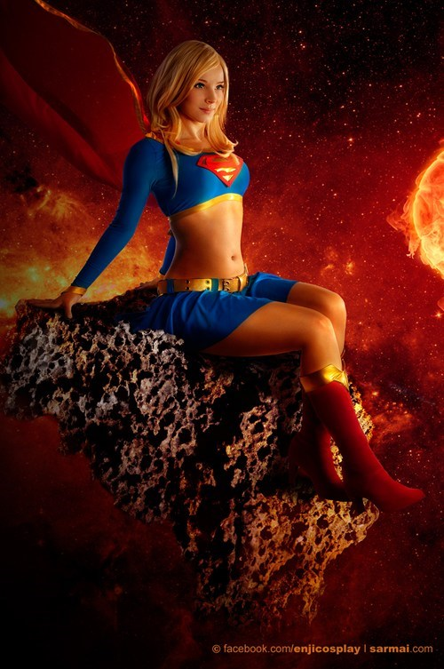 cosplay DC supergirl - 7764398336