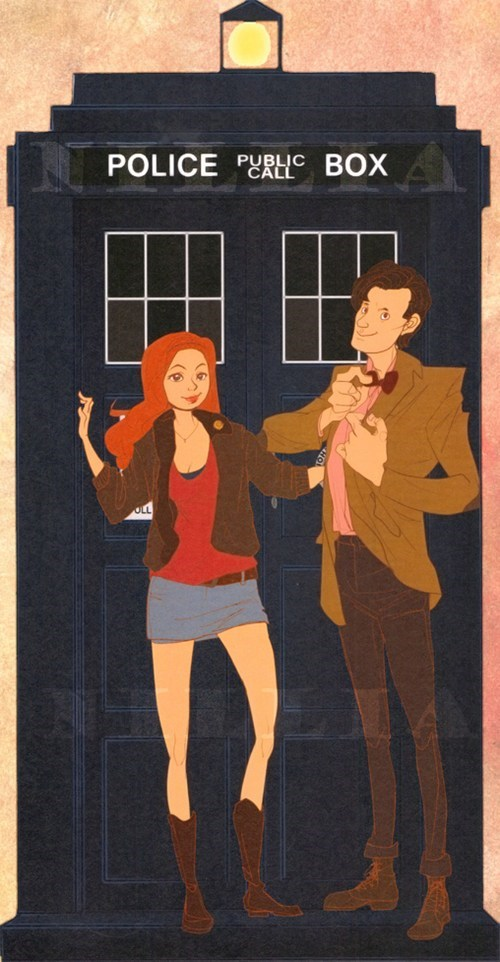 Fan Art 11th Doctor doctor who amy pond - 7764557312