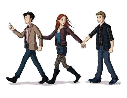 rory williams Fan Art 11th Doctor doctor who amy pond - 7764557824