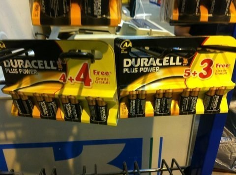 duracell batteries deals - 7764854272