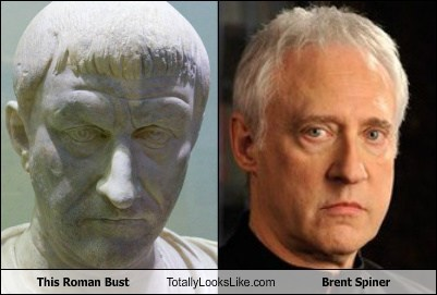 brent spiner TNG totally looks like data Star Trek bust - 7765062144