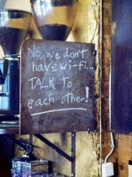 bar sign wi-fi funny