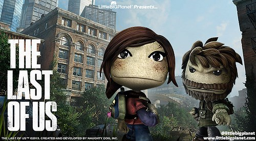 crossover Little big planet the last of us - 7765388544