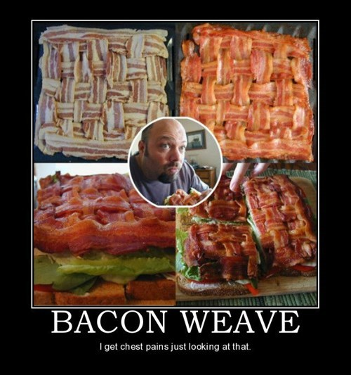 weave,funny,bacon