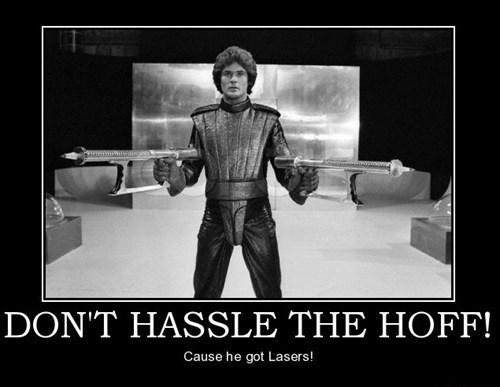wtf david hasselhoff lasers funny - 7765439744