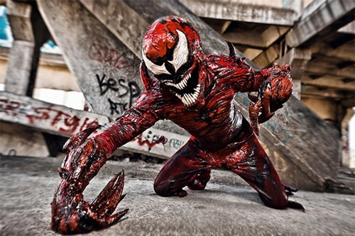 marvel,cosplay,carnage,Spider-Man