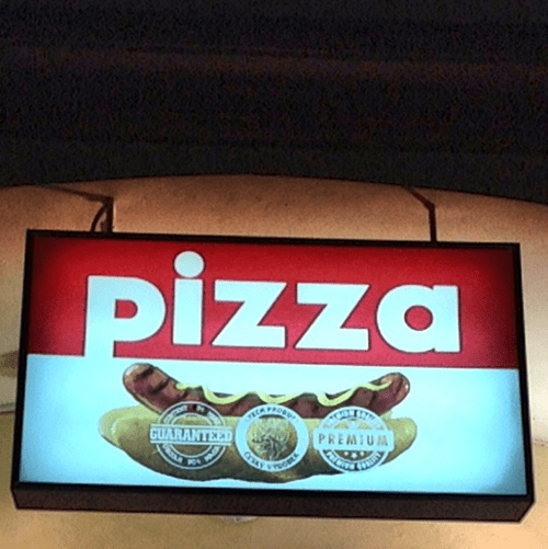 sign pizza funny - 7765609216