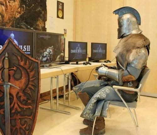 cosplay awesome dark souls - 7765618176