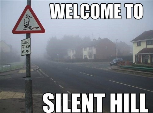 IRL,pyramid head,silent hill,fog