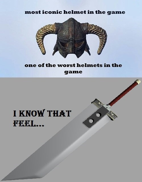 final fantasy video games i know that feel bro Skyrim - 7765656832