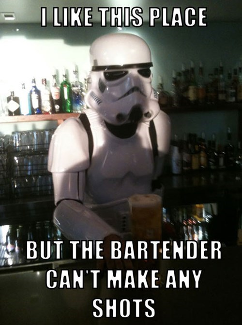 bar star wars pun - 7765899264