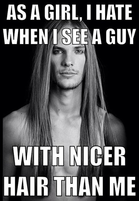 hair guys nicer girls - 7765901312