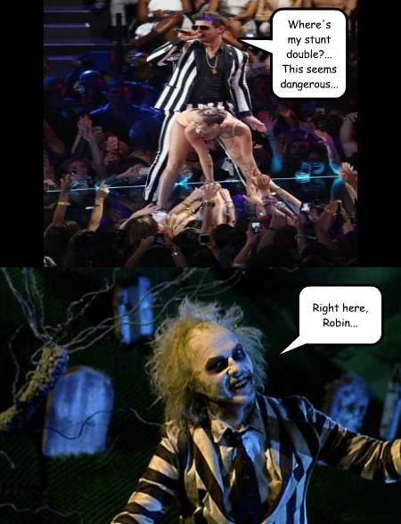 beetlejuice robin thicke funny - 7766163456