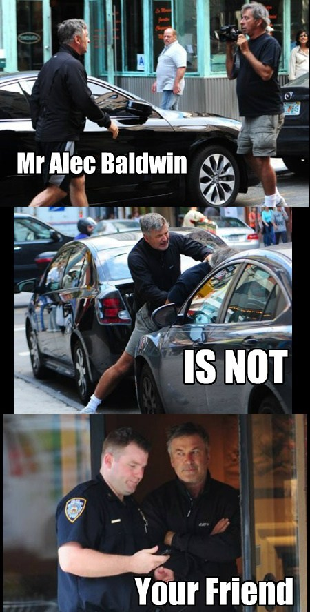 alec baldwin,angry,friendly,funny