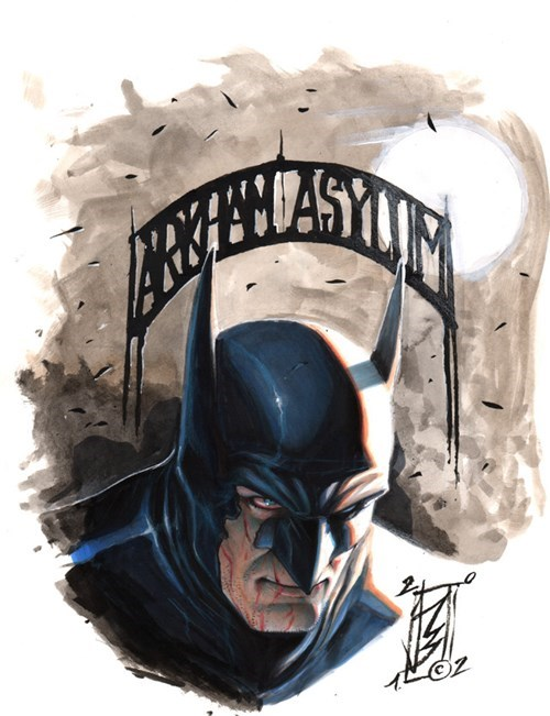 DC Fan Art batman - 7767474176
