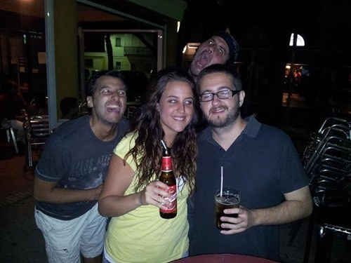 photobomb,screaming,funny