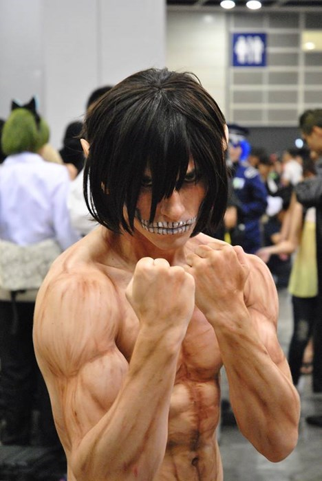 cosplay anime attack on titan - 7767586560