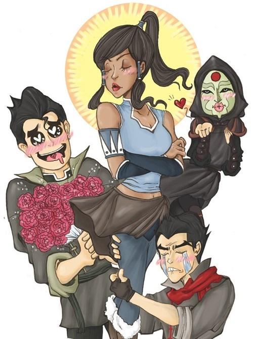 Fan Art korra cartoons - 7767590144