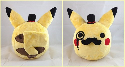Plush,pikachu,sir
