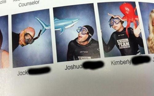 photos yearbooks shark funny - 7767640320