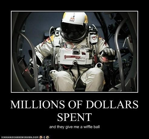 astronaut,funny,wiffle ball