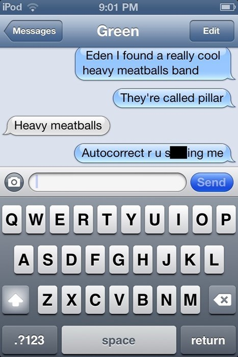 autocorrect text heavy metal funny AutocoWrecks - 7767689728