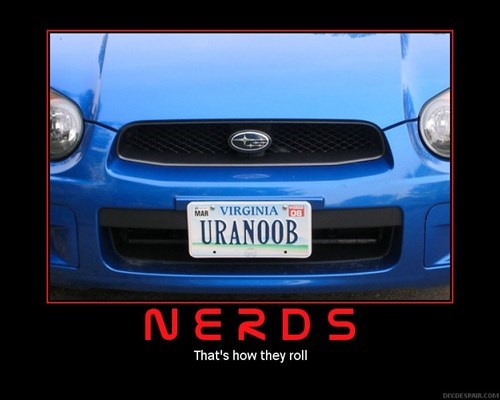 nerds,car,license plate,funny