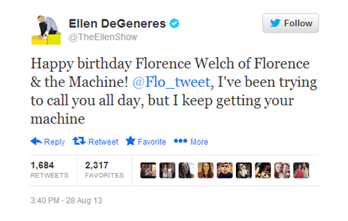 Florence Welch florence-the-machine ellen degeneres - 7767917568