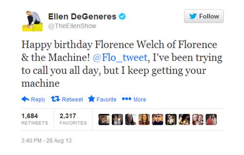 Florence Welch florence-the-machine ellen degeneres - 7767917568