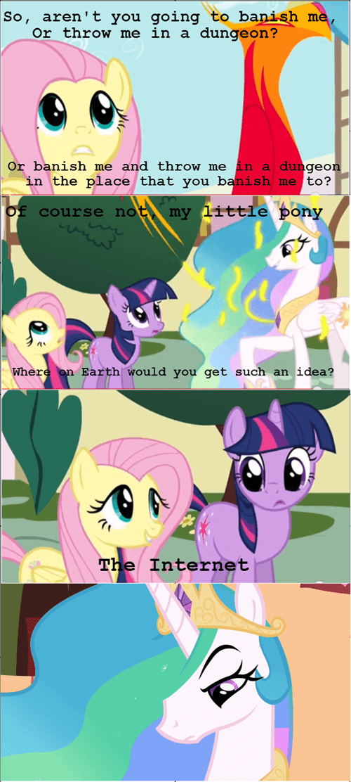the internets,punishment,celestia