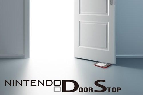 2DS,doorstops,nintendo