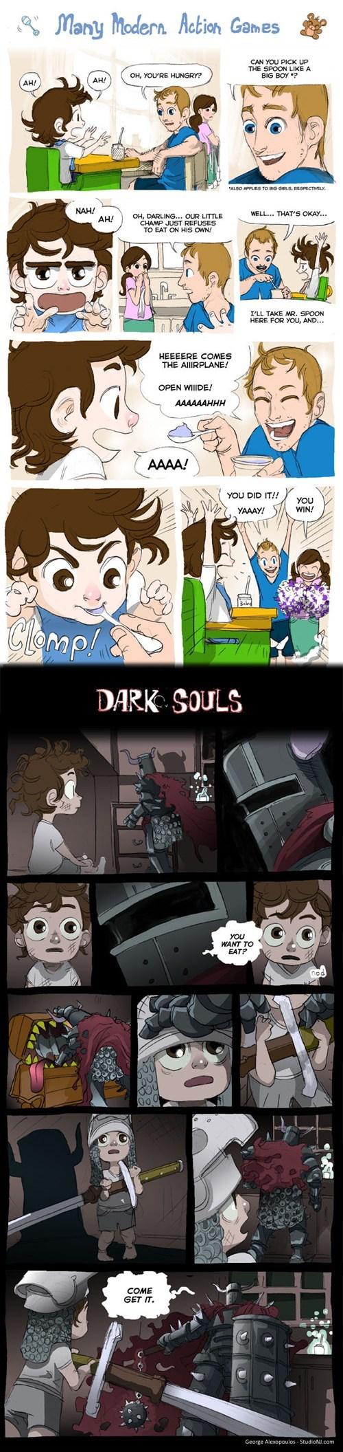 comics dark souls web comics - 7768608256