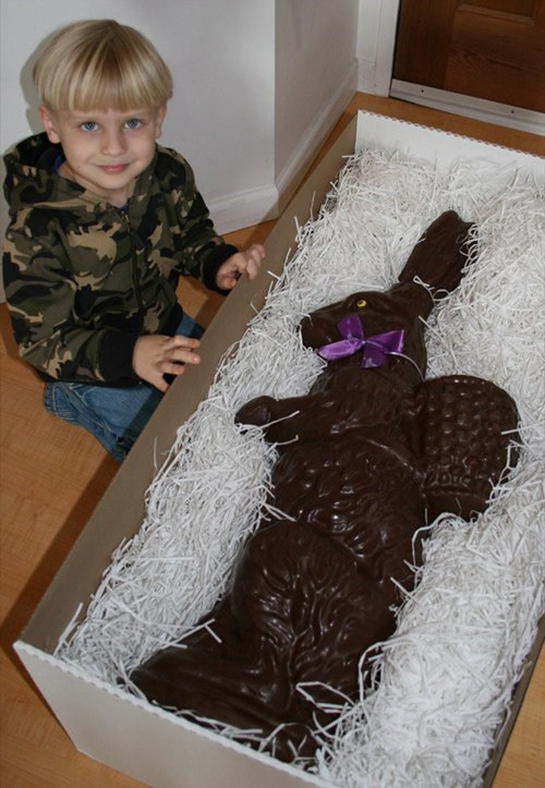 kids parenting chocolate bunny funny - 7768795392