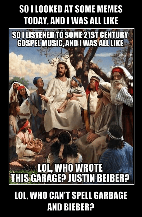 jesus justin beiber gospel music funny - 7768814848