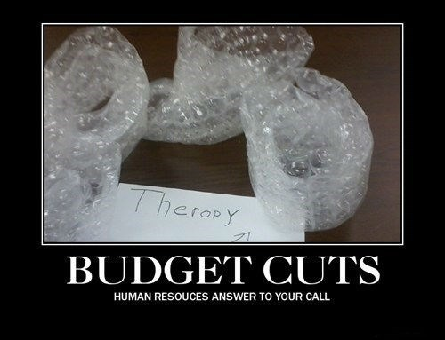 budget cuts Office cheap funny