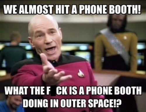 picard,TNG,tardis,doctor who,Star Trek,phone booth
