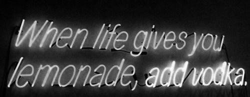 life,lemons,vodka,funny
